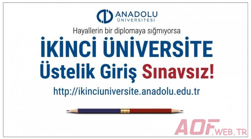 Açıköğretim İkinci Üniversite